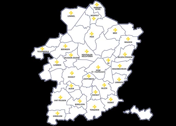 Afdelingen Limburg