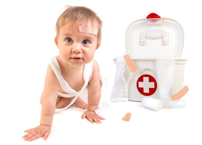 Eerste hulp bij jonge kinderen