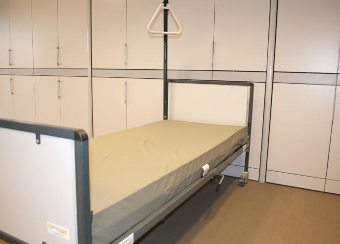 Standaard ziekenhuisbed