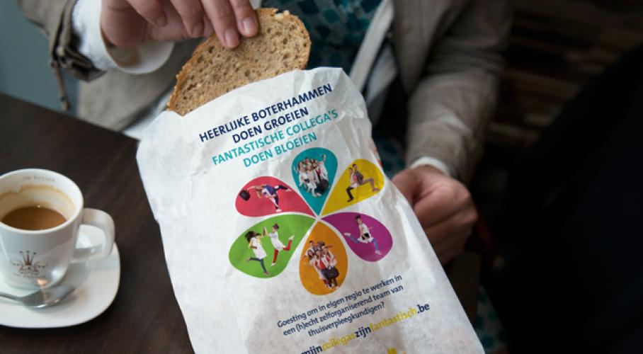 Broodzak Wit-Gele Kruis Oost-Vlaanderen collega's gezocht